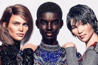 Addio modelle in carne e ossa: Balmain lancia la prima campagna con le top virtuali