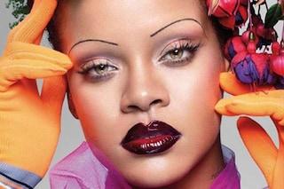 """Rihanna prima star di colore su Vogue UK di settembre: """"Non rinuncio al mio sedere"""""""