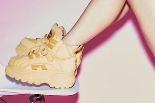 Ritornano le Buffalo, le sneakers con la zeppa che hanno spopolato negli anni '90