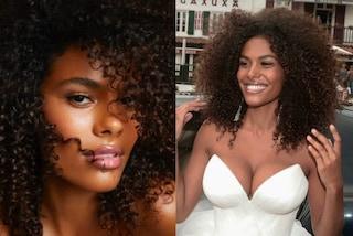 Tina Kunakey sposa semplice e radiosa: il make-up di fine estate da imitare
