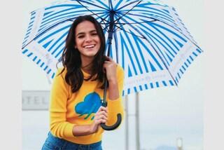 Le previsioni del tempo diventano trendy: i maglioni di Alberta Ferretti dedicati al meteo
