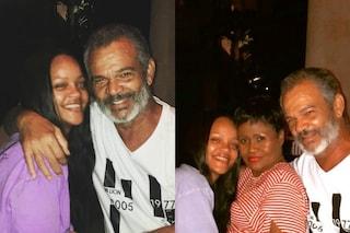 Rihanna senza trucco nelle foto di famiglia: anche in versione acqua e sapone è splendida