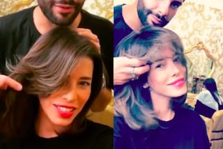 Aida Yespica cambia look: la showgirl dice addio ai capelli biondi