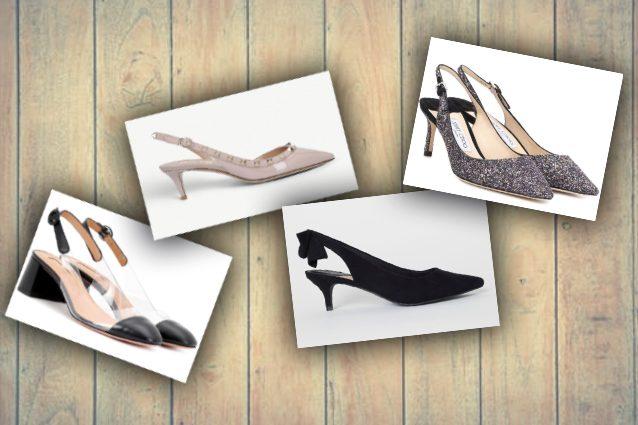 new arrival acc23 024a2 Trend scarpe slingback: come indossare il sandalo con il ...