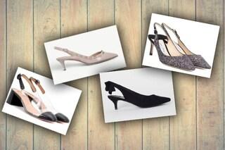 Trend scarpe slingback: come indossare il sandalo con il tacco basso