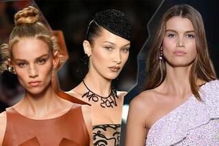 Alla Milano Fashion Week il make up è radioso: glitter e illuminanti per il trucco della primavera
