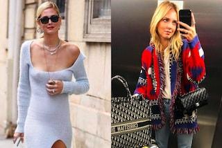 Chiara Ferragni alle sfilate di Parigi: abito senza intimo e maglione da 2mila euro