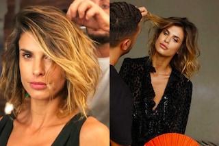Elisabetta Canalis cambia look: ecco il nuovo taglio di capelli dell'ex velina