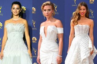 Tutte in bianco agli Emmy Awards 2018: ecco i look delle star sul red carpet