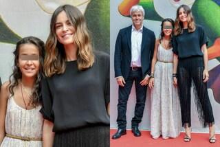 Sophie Taricone debutta sul red carpet: è bella e glamour come mamma Kasia Smutniak