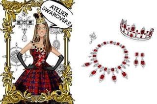 Tiare di cristalli e collane da regina: Anna Dello Russo firma i gioielli di Swarovski