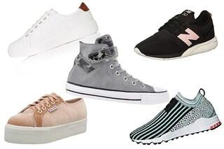 Sneaker per l'autunno 2018: 51 scarpe da ginnastica tra cui scegliere