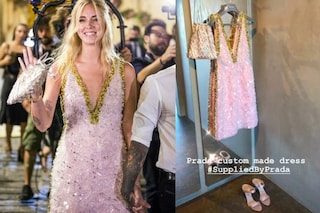 Matrimonio Ferragni-Fedez: Chiara sceglie il rosa scintillante per il party pre-nozze
