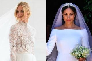 Gli abiti da sposa di Chiara Ferragni? Sono più influenti di quello di Meghan Markle