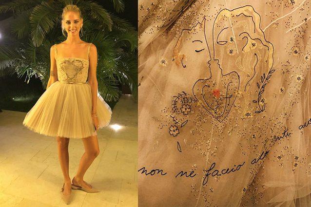 a385a159e2 Chiara Ferragni: il terzo abito da sposa e i simboli nascosti del ...