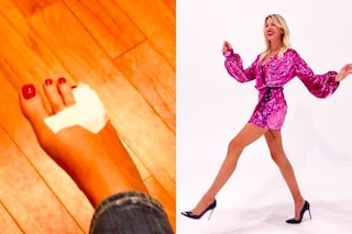 Niente più tacchi alti per Alessia Marcuzzi: ecco perché indosserà solo scarpe basse