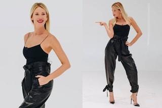 """Alessia Marcuzzi con il pantalone di pelle a """"Le Iene"""": è pioggia di critiche sul web"""