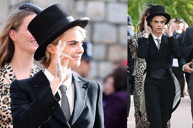 Matrimonio Look Uomo : Cara delevingne vestita da uomo è lei la più cool al matrimonio