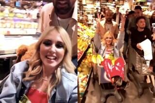 Scandalo Ferragni Fedez per la festa al supermercato, Chiara risponde così alle critiche