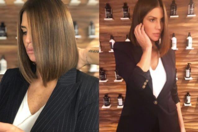 Claudia Galanti dice addio ai capelli lunghi  cambia look e passa al bob f7a8e6530dbf