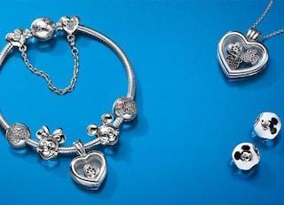Ciondoli Pandora Disney: i charms più belli dedicati a Cenerentola, Topolino e Biancaneve
