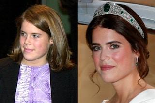 """Eugenie di York ieri e oggi: la trasformazione da """"brutto anatroccolo"""" a principessa"""