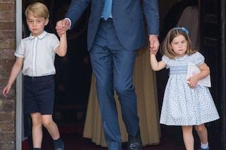 George e Charlotte principi perfetti: a dargli lezioni di etichetta è mamma Kate Middleton