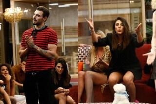Francesco Monte e Giulia Salemi, lui come un gondoliere, lei senza gonna con l'abito giacca