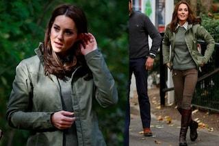 Il nuovo taglio di Kate Middleton: torna a lavoro con il look casual (e riciclato)