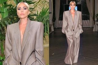 Lady Gaga presa in giro per il completo oversize: ecco il motivo per cui lo ha indossato