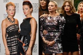Ieri rock, oggi glam: la trasformazione di stile delle Donatella da X-Factor al GF Vip