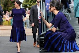 Meghan Markle in mutande: il look della principessa dà scandalo