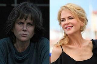 """Nicole Kidman invecchiata e con i capelli scuri: la trasformazione per il film """"Destroyer"""""""