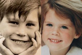 A poche ore dal Royal Wedding spuntano le foto della principessa Eugenie e Jack da bambini