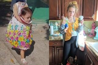 Una bimba senza testa e una mamma disperata: i costumi di Halloween più originali del web