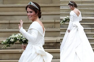 Il matrimonio di Eugenie di York: abito da sposa senza velo per il Royal Wedding