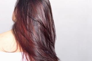 Colore capelli 2018: wine hair di tendenza per l'autunno-inverno