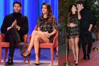 Cecilia e Ignazio innamorati al Costanzo Show: lui veste castigato, lei mostra le gambe