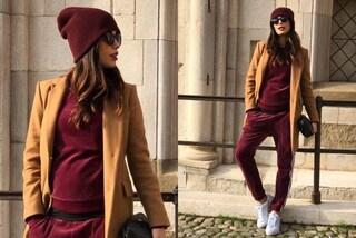 Federica Nargi incinta: in gravidanza dice addio tacchi e indossa tuta e sneakers
