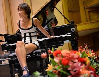 Yuja Wang, la pianista in tacchi a spillo: è la nuova icona sexy della musica classica
