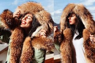 """Pioggia di critiche per Giulia De Lellis dopo la foto in pelliccia: """"Smettete di seguirla"""""""