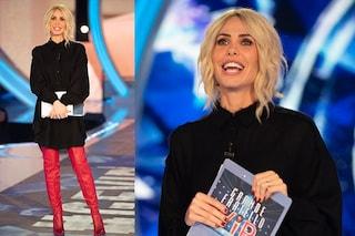 Ilary Blasi cambia stile al GF Vip: addio paillette, nella puntata 12 camicia e stivali