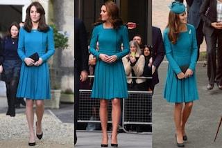 Ecco perché Kate Middleton sta riciclando gli abiti sempre più spesso
