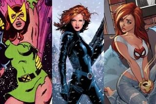 Dalla Vedova Nera alla Fenice: le eroine più trendy ideate da Stan Lee