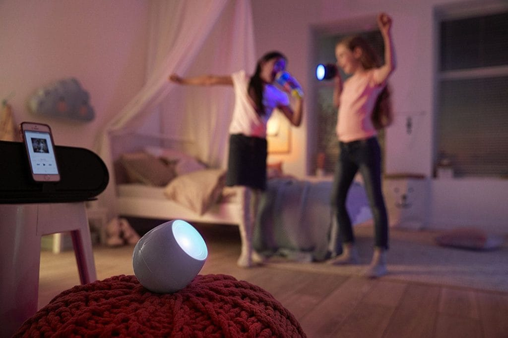 Philips Lighting LED LivingColors Sound Luce d'atmosfera colorata