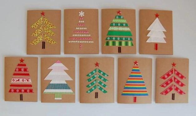 Biglietti Di Natale Semplici Per Bambini.Biglietti Di Natale Fai Da Te 6 Idee Per Auguri Creativi E Originali