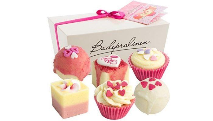 Bombe da bagno cupcake