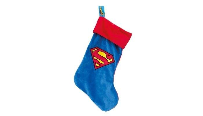 calza della befana Superman