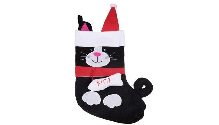 calza della befana gatto