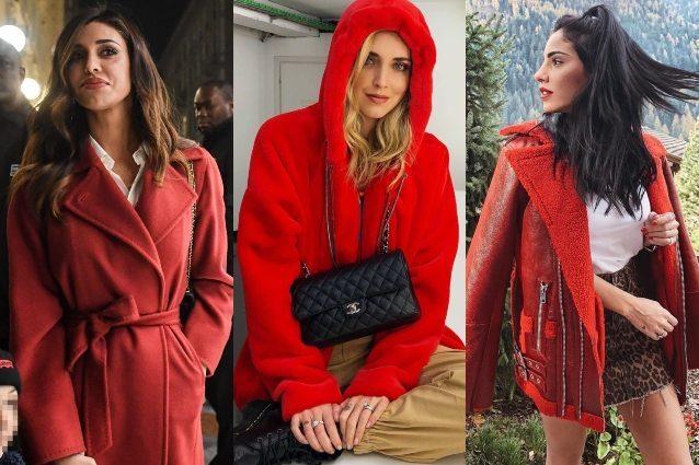 Il cappotto rosso è il più trendy dell'inverno: ecco come
